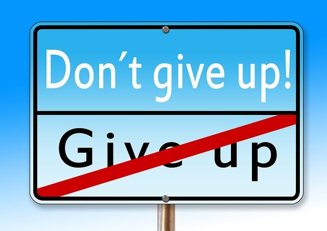 Psychopath Narcissist Recovery Don't Give Up Sign