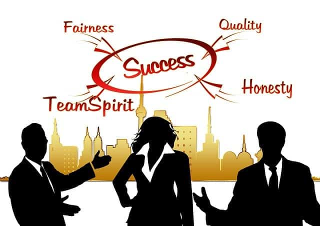 Business World Quality Values